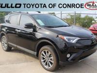 Black 2017 Toyota RAV4 Limited 29/23 Highway/City