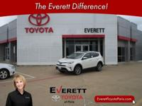 Recent Arrival! 2017 Toyota RAV4 Limited Blizzard Pearl