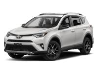 Options:  2017 Toyota Rav4 Se|Black/Black|V4 2.5 L