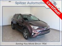 Toyota RAV4 XLE CARFAX One-Owner. Certified. Clean