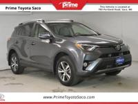 CARFAX One-Owner! Toyota Certified!! 2017 Toyota RAV4