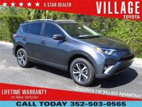 EXCLUSIVE LIFETIME WARRANTY. Village Toyota is honored