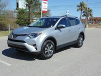 Options:  2017 Toyota Rav4 Xle Fwd Used|Silver Black