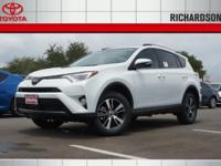 2017 Toyota RAV4 XLE 30/23 Highway/City MPGAwards:  *