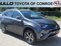 Gray 2017 Toyota RAV4 XLE 30/23 Highway/City MPGAwards:
