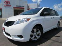 This 2017 Toyota Sienna comes equipped with tri-zone