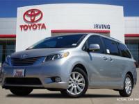 Silver 2017 Toyota Sienna Limited Premium 27/19