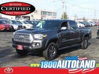 CARFAX One-Owner. Certified. Gray 2017 Toyota Tacoma