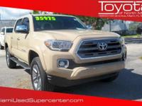 Options:  2017 Toyota Tacoma Limited|Beige|2017 Toyota