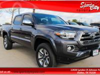 2017 Toyota Tacoma Limited  Options:  Tachometer|Cd