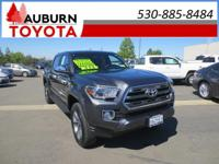 LOW MILES, 1 OWNER, 4WD!!  This 2017 Toyota Tacoma