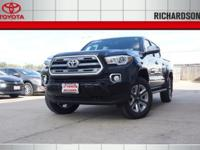2017 Toyota Tacoma Limited 4WD.  Options:  Axle Ratio: