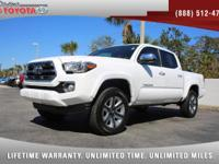 2017 Toyota Tacoma Double Cab Limited 4x4 V6, *** BRAND