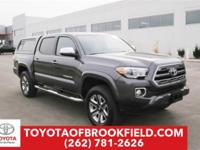 **2017 Toyota Tacoma Limited V6 4WD** CARFAX One-Owner.