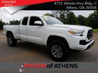 Check out this 2017 Toyota Tacoma SR. Its Automatic