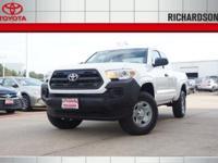 2017 Toyota Tacoma SR  Options:  Axle Ratio: 4.30|16 X