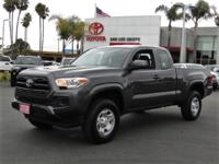 Options:  2017 Toyota Tacoma Sr 4Wd|This Vehicle Has A