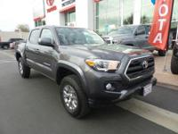 New Arrival! This 2017 Toyota Tacoma SR will sell fast