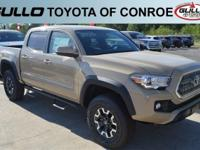 Brown 2017 Toyota Tacoma TRD OffroadLet the team at