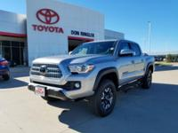 4WD. Short Bed! Nav! This 2017 Tacoma is for Toyota