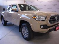 The Toyota Tacoma delivers unwavering capability and