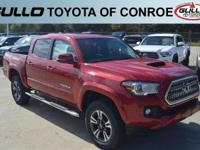 Red 2017 Toyota Tacoma TRD Sport  Let the team at Gullo
