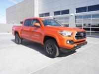 V6 Certified. Tacoma SR5 V6, 4D Double Cab, V6, 6-Speed