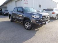 CARFAX One-Owner. Clean CARFAX. Gray 2017 Toyota Tacoma