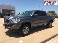 2017 Toyota Tacoma SR5 V6 Gray RWD 6-Speed Automatic V6