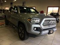 Check out this gently-used 2017 Toyota Tacoma we