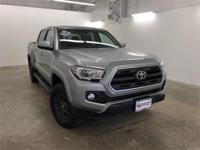 Silver 2017 Toyota Tacoma SR5 V6 RWD 6-Speed Automatic