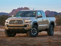 Super White 2017 Toyota Tacoma SR5 V6 RWD 6-Speed