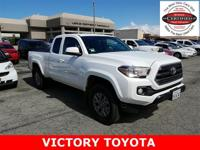 2017 Toyota Tacoma SR5 in White starred featured