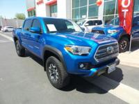 This 2017 Toyota Tacoma TRD Off Road, has a great
