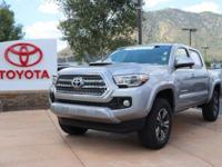 4WD. CARFAX One-Owner. Clean CARFAX. Silver 2017 Toyota