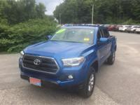 4WD. Recent Arrival! Black 2017 Toyota Tacoma 4WD