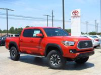 New Arrival! This 2017 Toyota Tacoma TRD Off Road  will