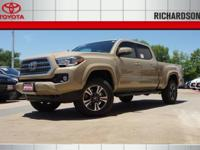 2017 Toyota Tacoma TRD Sport 4WD.  Options:  Axle
