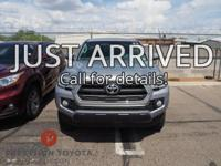 Certified. **One Owner**, Tacoma SR5, 4D Double Cab,