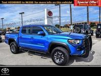 TRD Off Road trim. Toyota Certified, CARFAX 1-Owner,