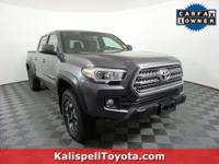 Options:  2017 Toyota Tacoma Trd Off Road|Magnetic Gray