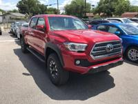 Red 2017 Toyota Tacoma TRD Offroad  Let the team at