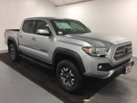 2017 Toyota Tacoma TRD Offroad Silver Sky Metallic 4WD,