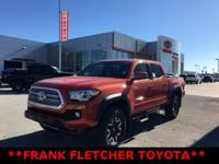 Inferno 2017 Toyota Tacoma 4WD. 18/23mpg ****HELPING