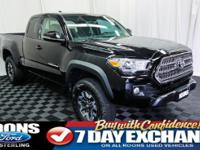 **TRD OFF ROAD, NAVIGATION, BACKUP CAMERA** 2017 Tacoma