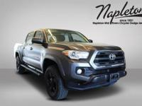 This 2017 Toyota Tacoma in Magnetic Gray Metallic