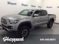 TRD Off Road trim. CARFAX 1-Owner, ONLY 21,400 Miles!