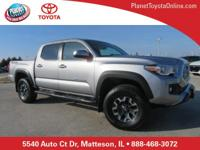 Recent Arrival! 2017 Toyota Tacoma TRD Offroad Silver