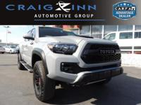 PREMIUM & KEY FEATURES ON THIS 2017 Toyota Tacoma