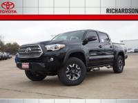 2017 Toyota Tacoma TRD Offroad 4WD.  Options:  Axle